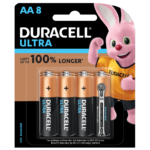 Duracell Ultra Alkaline AA Batteries in 8 piece pack
