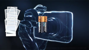 Duracell Ultra batteries in action in digital cameras